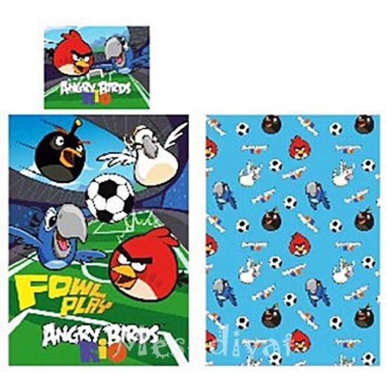 Angry Birds Rio ágynemű garnitúra felnőtt méretű