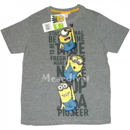 Minyon Minion póló nagy méret szürke
