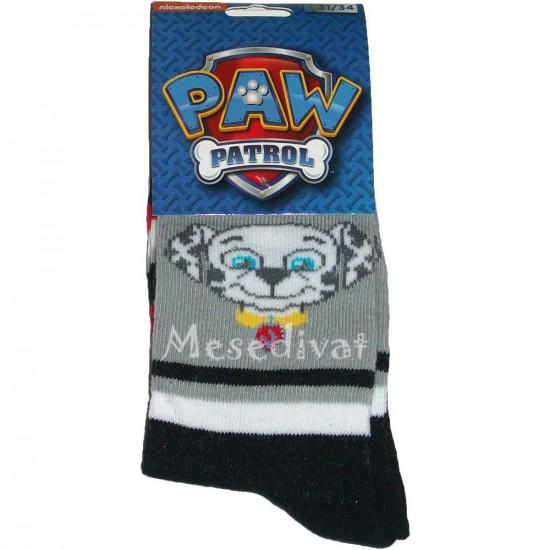 Paw Patrol zokni szürke