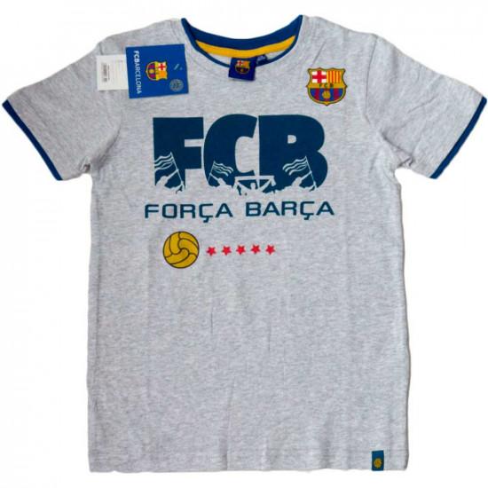 Fc Barcelona póló szürke 98-164