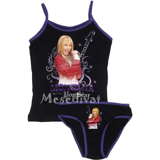 Hannah Montana trikó bugyi szett