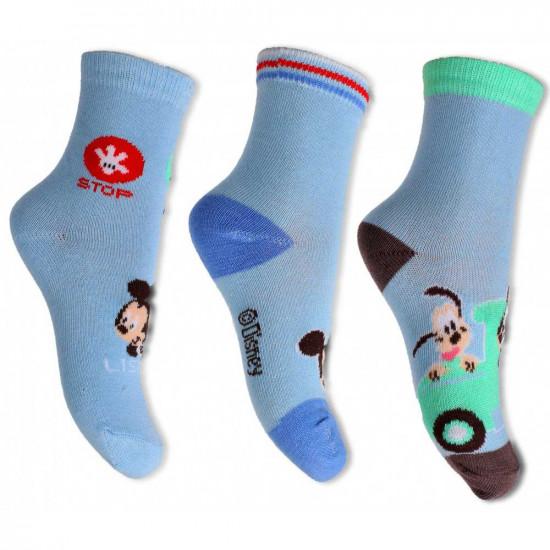 Mickey Egeres baba zokni 3 darab