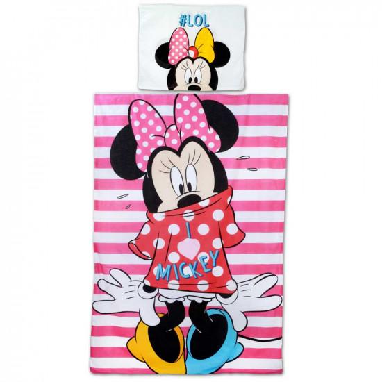 Minnie Egeres ágynemű csíkos