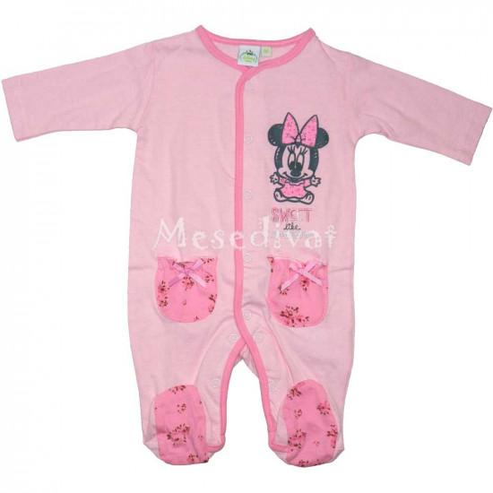 Minnie Egeres rugdalózó rózsaszín