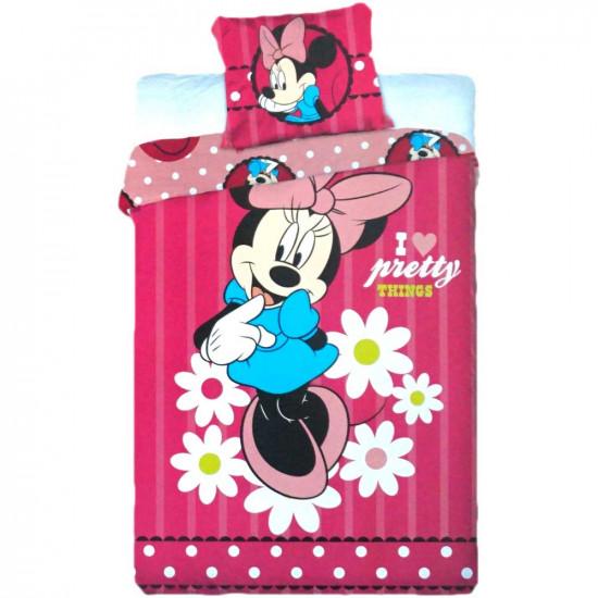 Minnie Egeres ágynemű pink