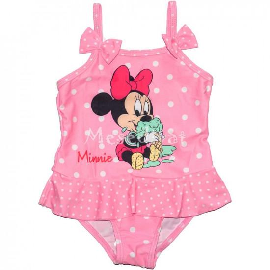 Minnies baba fürdőruha rózsaszín