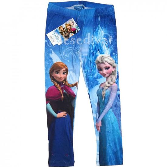 Jégvarázs leggings nagy mintás kék