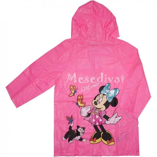 Minnie Egeres esőkabát rózsaszín