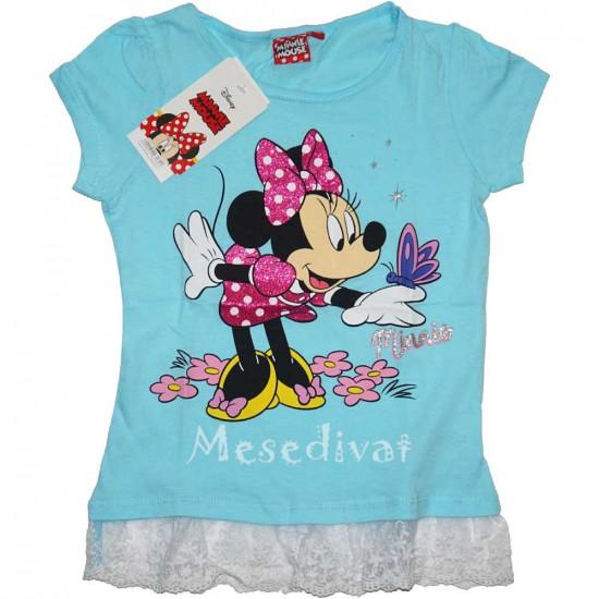 Minnie Egeres póló világoskék színben