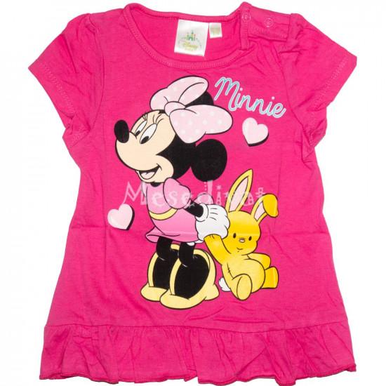 Minnie Egeres bébi póló pink