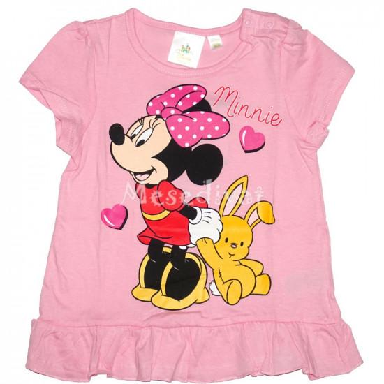 Minnie Egeres baba póló kislányoknak