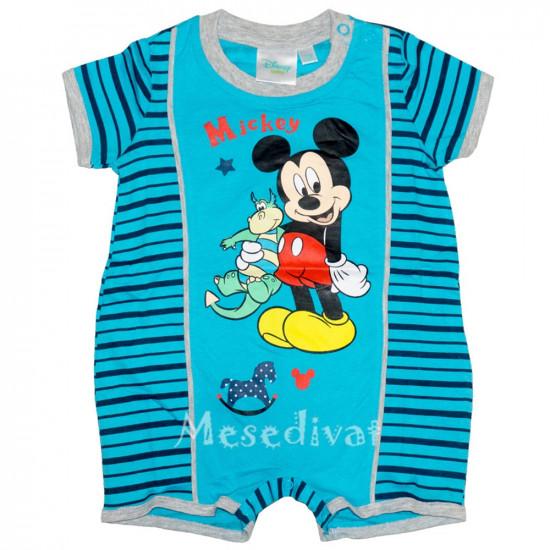 Mickey Egeres baba napozó kék