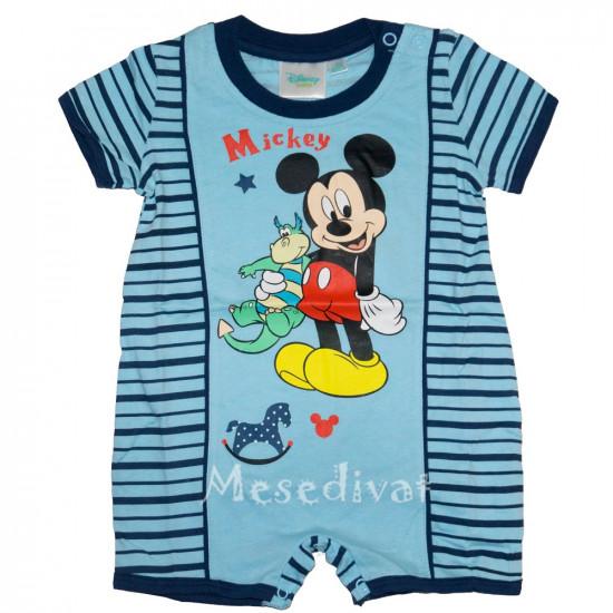 Mickey Egeres bébi napozó kisfiúknak
