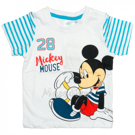 Mickey Egeres baba póló fehér