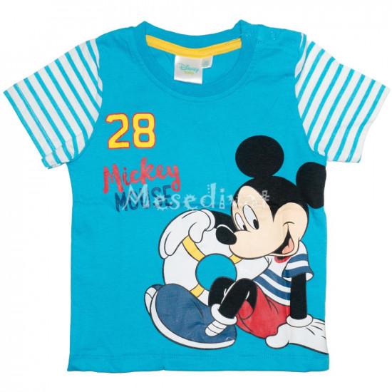 Mickey Egeres bébi póló kék