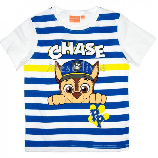 Mancs póló Chase mintával csíkos