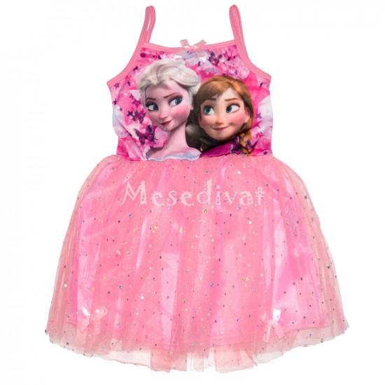 Jégvarázs tüllszoknyás ruha rózsaszín