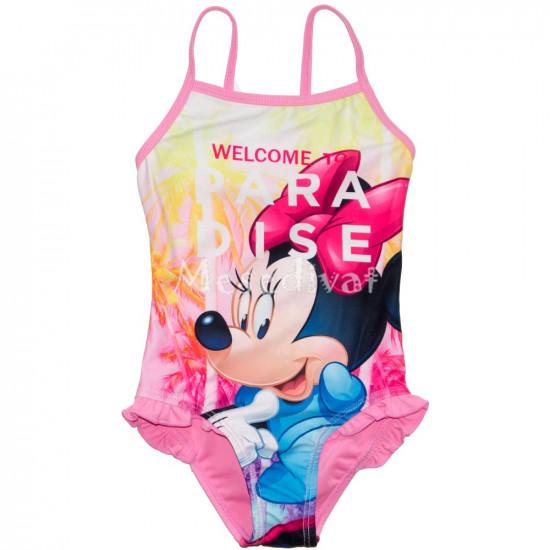 Minnie Egeres egyrészes fürdőruha rózsaszín