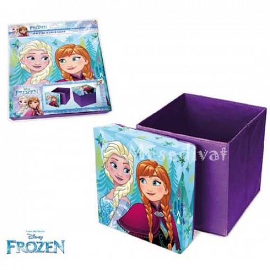 Jégvarázs játéktároló doboz ülőke