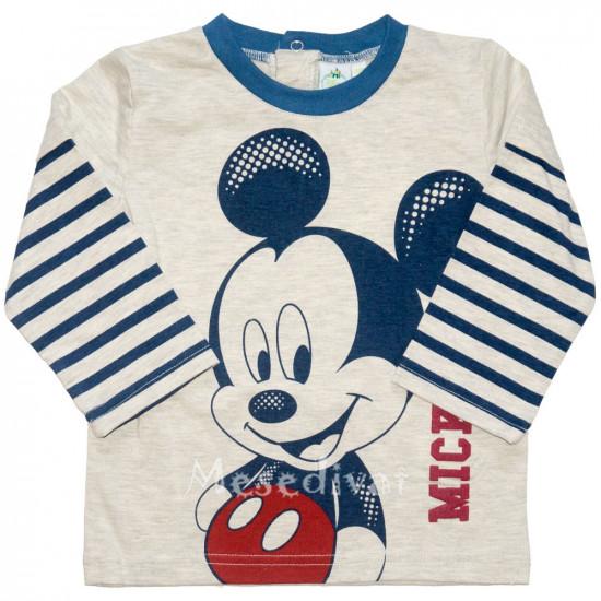Mickey Egeres baba hosszúujjú póló szürke