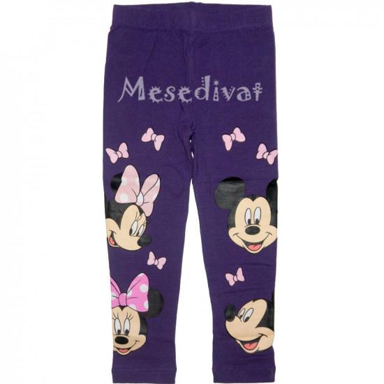 Minnie leggings lila