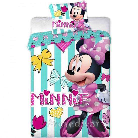 Minnie Mouse ovis ágyneműhuzat garnitúra