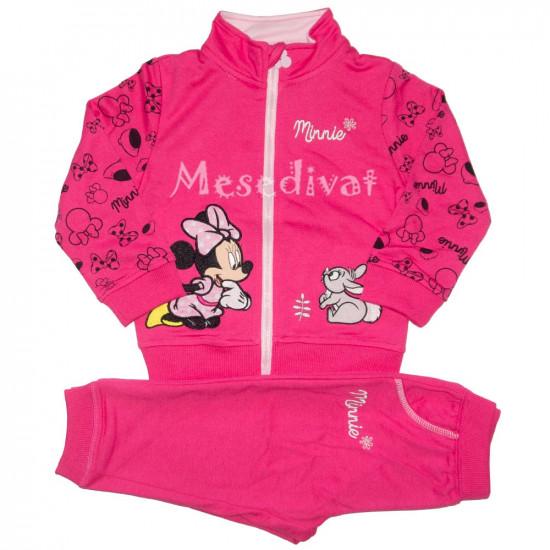 Minnie Egeres bébi melegítő együttes pink