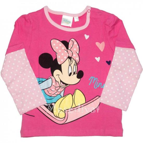 Minnies bébi hosszúujjú póló pink