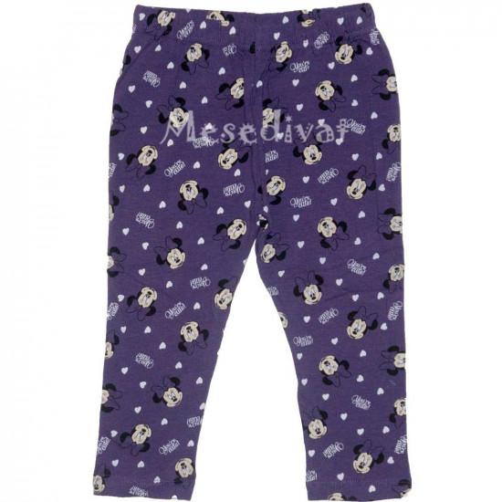 Minnies baba leggings lila színben