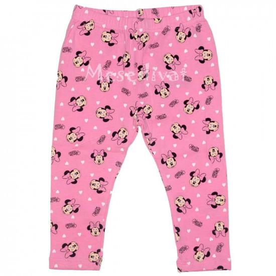 Minnie Mouse bébi leggings rózsaszín