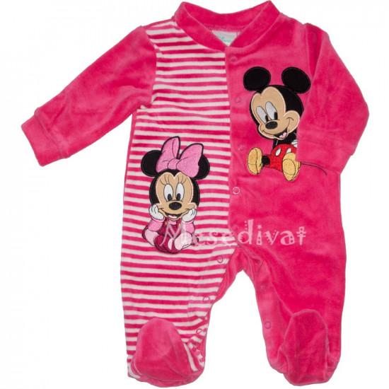 Minnie Mickey Mouse plüss rugdalózó