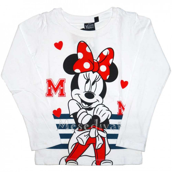 Minnie Egeres hosszúujjú póló csíkos