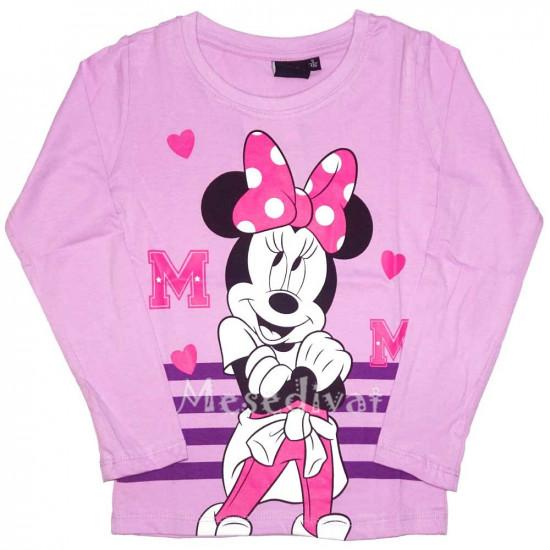 Minnie Mouse hosszúujjú póló lila