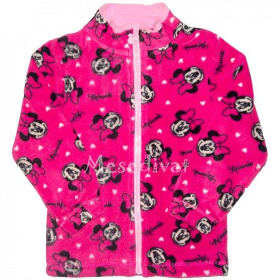 Minnie Egeres polár kardigán pink