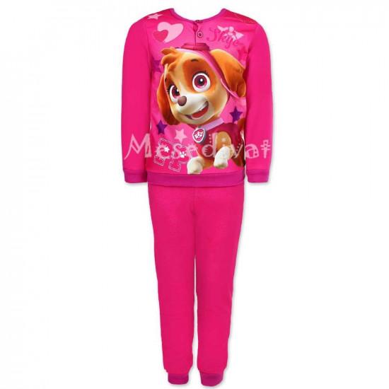 Mancs Őrjárat polár pizsama kislányoknak