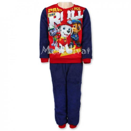 Mancs Őrjárat polár pizsama kisfiúknak