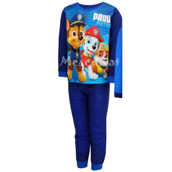 Mancs Őrjárat pamut pizsama kisfiúknak