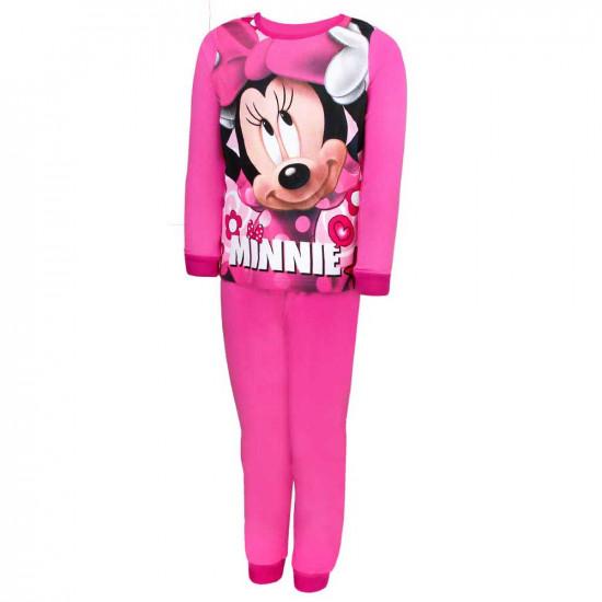 Minnie Egeres pamut pizsama rózsaszín