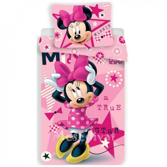 Minnie Egeres rózsaszín ágyneműhuzat