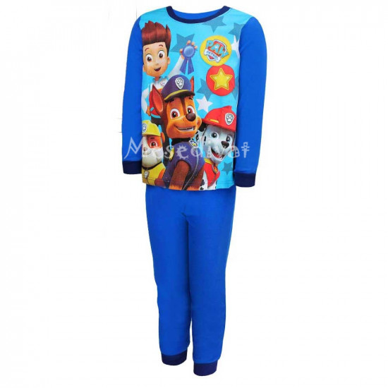 Mancs Őrjárat pizsama kisfiúknak 98-128 kék