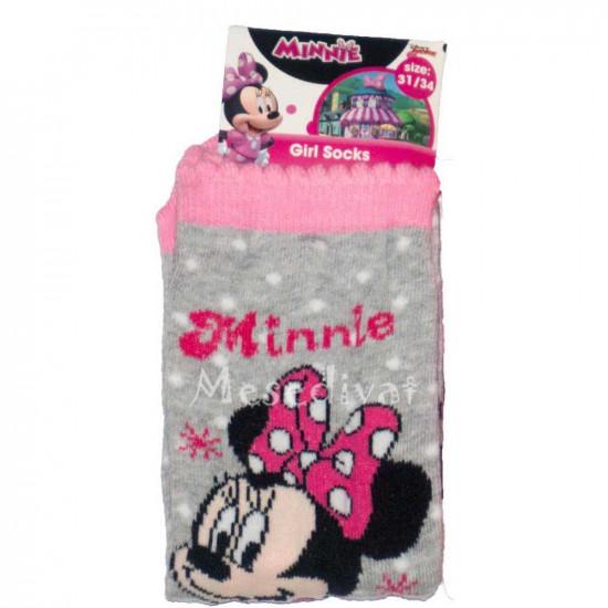 Minnie Egeres pöttyös zokni