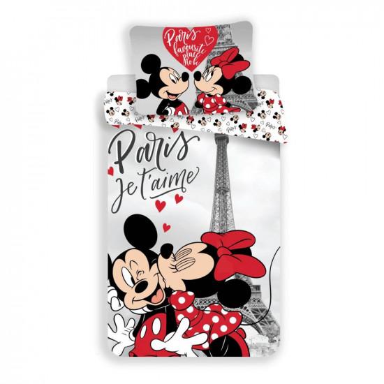Mickey és Minnie Egeres ágyneműhuzat Párizs
