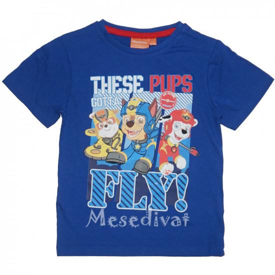 Mancs Őrjárat póló 98-116 kék