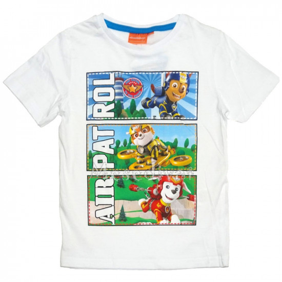 Mancs Őrjárat póló 98-116 fehér