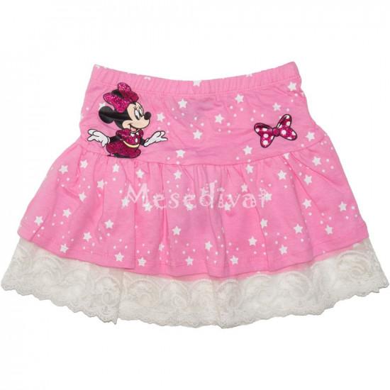 Minnie Mouse szoknya rózsaszín