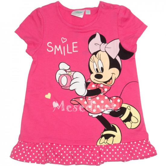 Minnie Mouse bébi póló pink