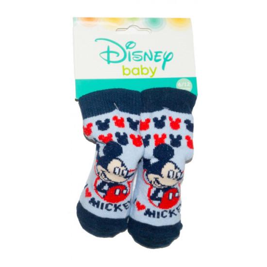 Mickey Mouse baba zokni 0-12 hó