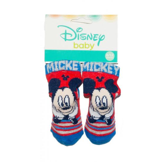 Mickey Egeres bébi zokni 0-12 hó
