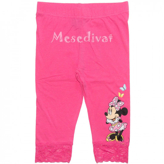 Minnie Mouse térdleggings pink