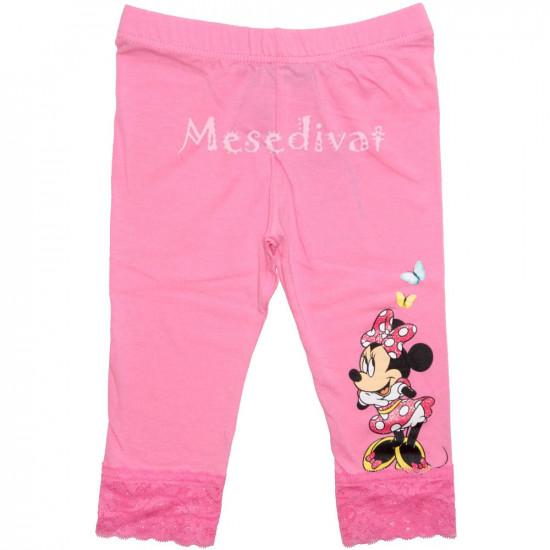 Minnie Mouse térdleggings rózsaszín